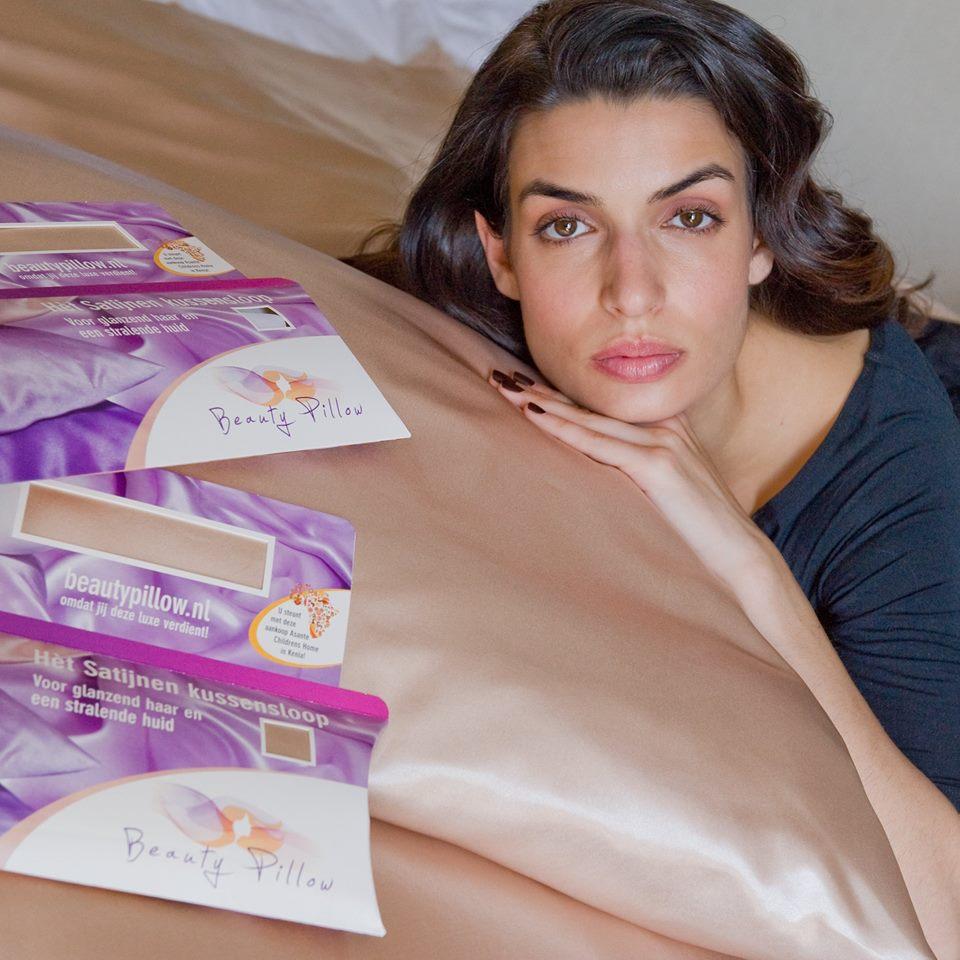 Ook op vakantie is de Beauty Pillow een musthave!
